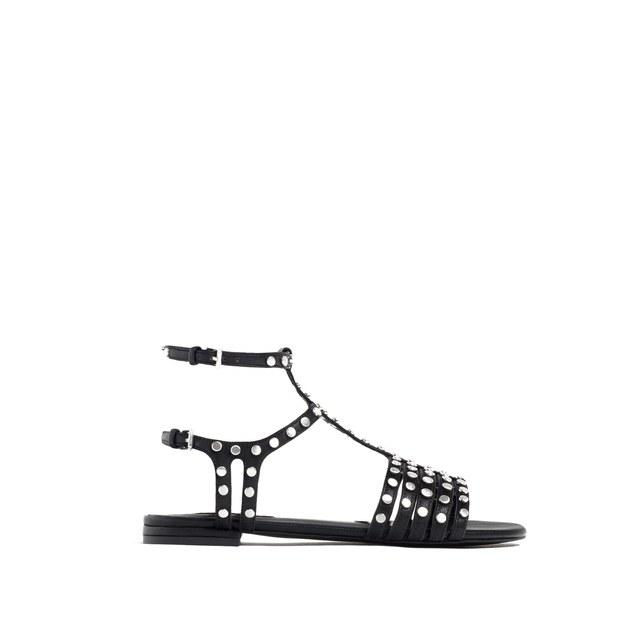 Flat Studded Sandals | Endource