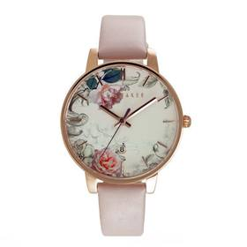Printed Floral Dial Watch by Ted Baker