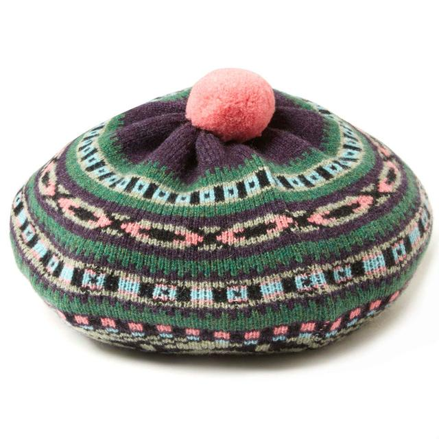 Fairisle Jacquard Beret | Endource