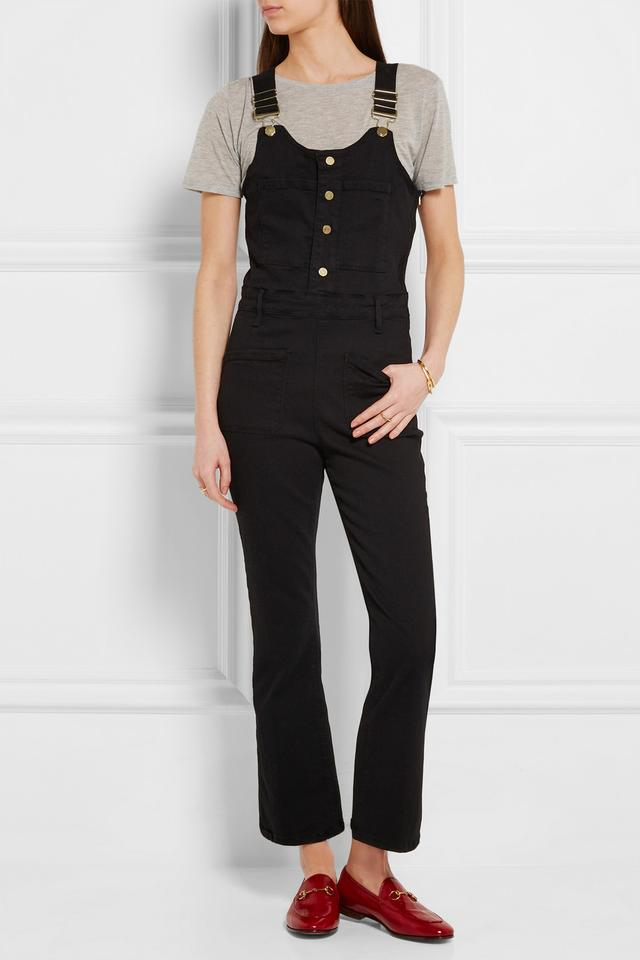Le High Cropped Jumper Overalls | Endource