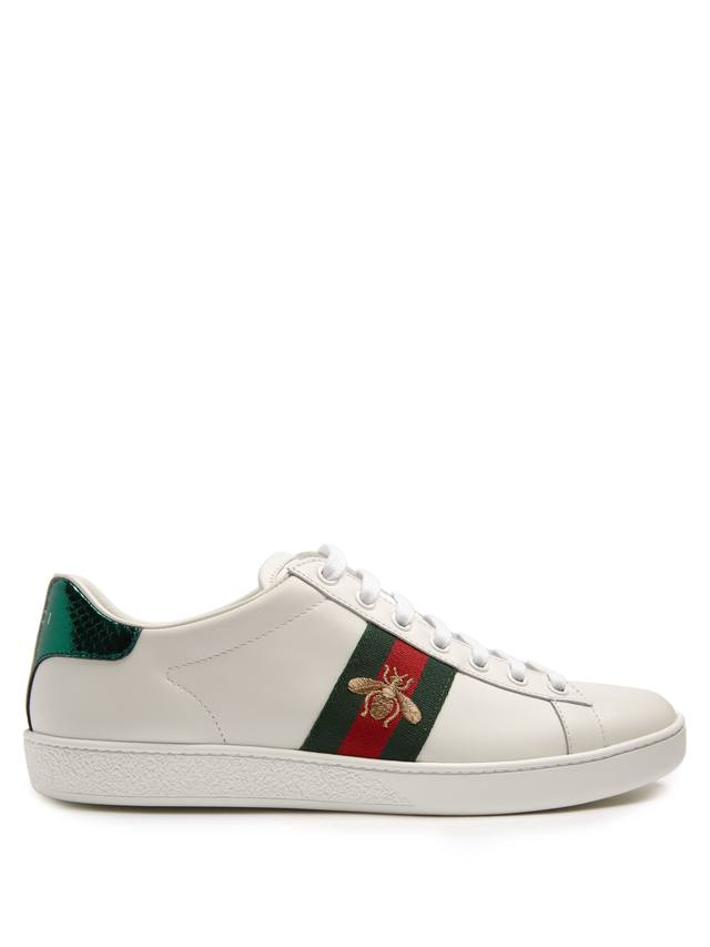 New Ace Bee Embroidered Trainers Endource
