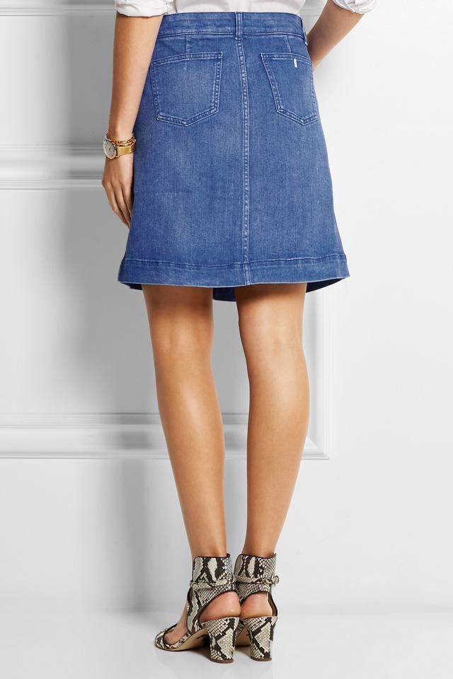 denim mini skirt endource