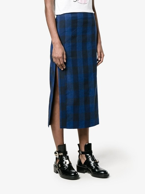 ad7f5c3bf4 Plaid Midi Skirt | Endource