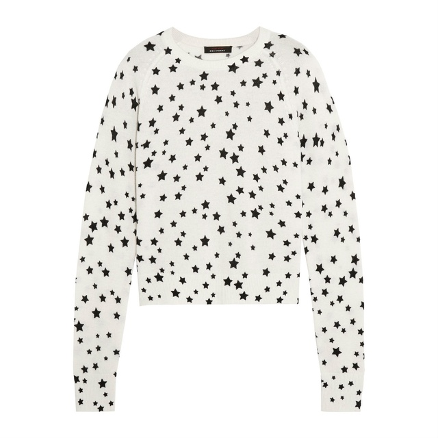 307225f180c Ryder Printed Cashmere Sweater