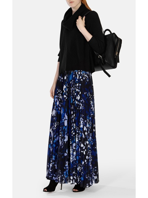 30e5e640562 Butterfly Pleated Maxi Skirt | Endource