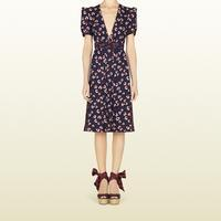 29010e697d4 Beach Ball Print Silk Pleated Dress | Endource