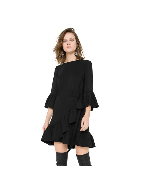 9084bcf948c Short Frilled Dress