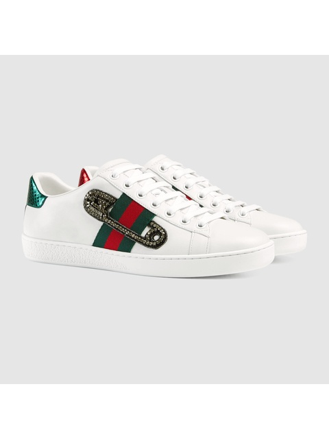 67525b8a990 Ace Embroidered Low-top Sneakers