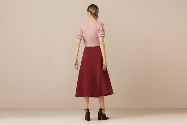 Belshaw Fold A-Line Skirt   Endource