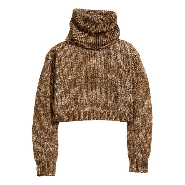 Short Polo-neck Jumper by H&m