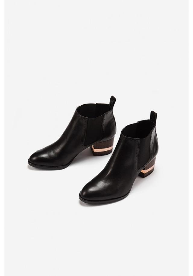 float boot with wooden heel endource