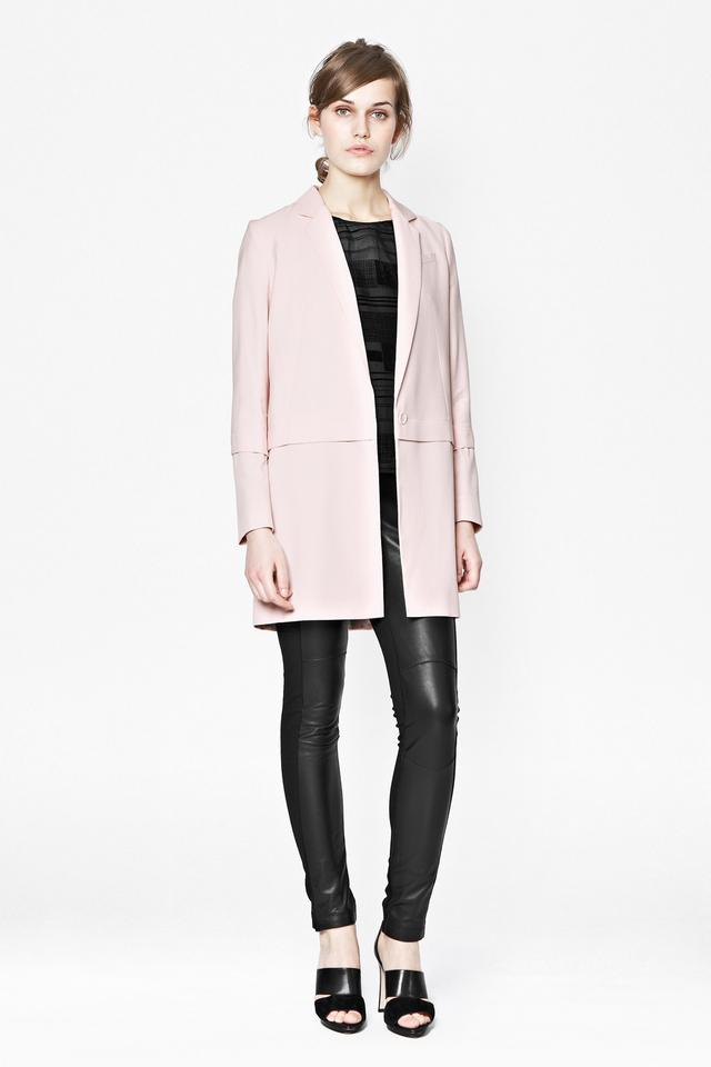PINK BLAZER COAT | Endource