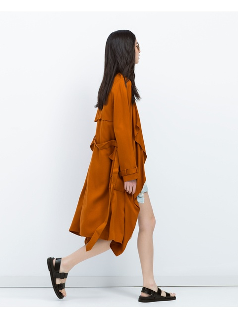 c0f42b01 Loose-fit Trench Coat | Endource