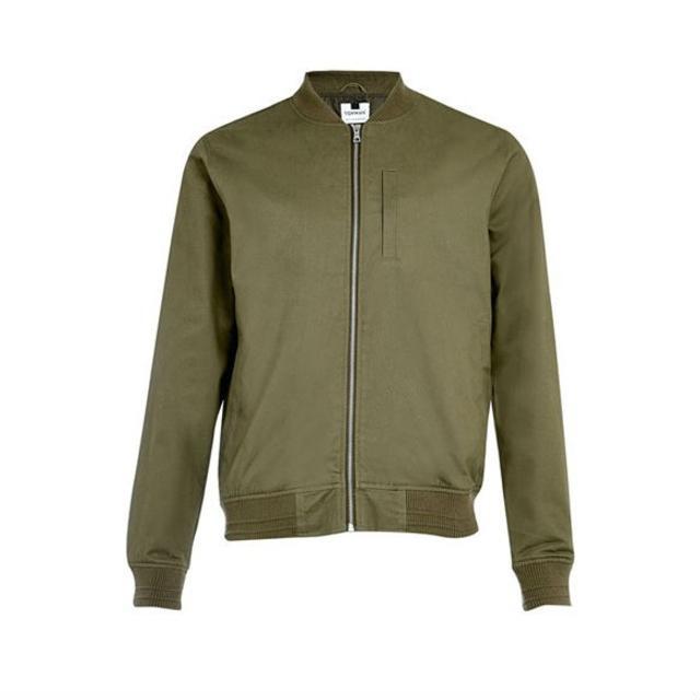 318d6047cedd Cotton Bomber Jacket