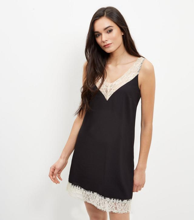 Black lace new look dress