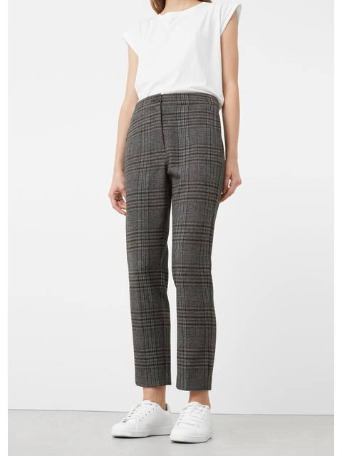 d5128fb1d85 Check Suit Trousers