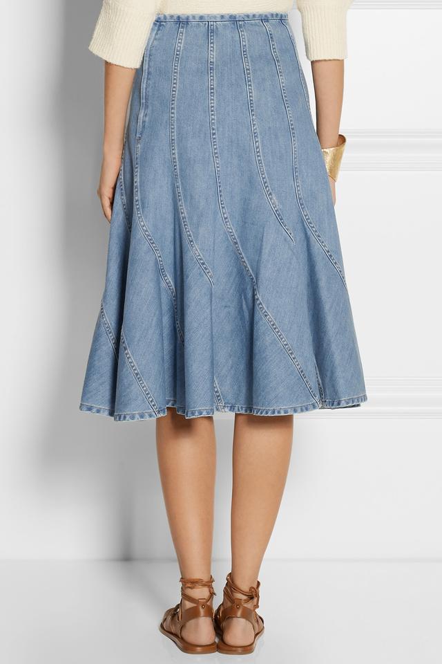 28789b180859 Buy michael kors skirts blue > OFF53% Discounted