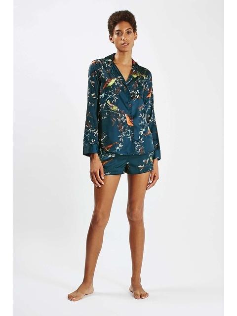 f2e4a9a33e Bird Print Pyjama Nightshirt
