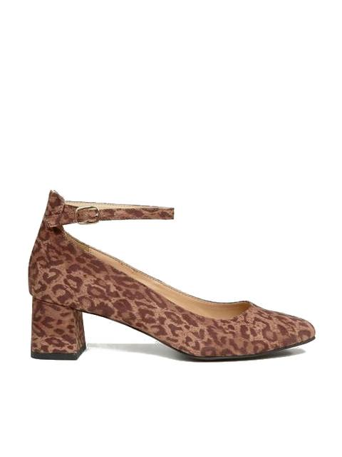 316e3598a633 Leopard Print Block Heel Shoe | Endource