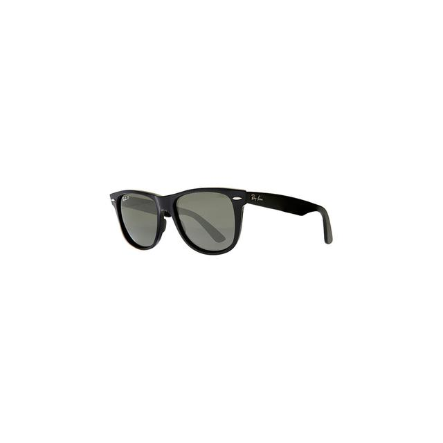 ray ban rb2140 iconic wayfarer  ray ban rb2140 iconic wayfarer oval sunglasses, black by ray ban