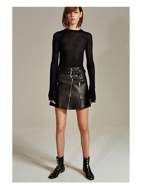 06bc0406be Leather Studio Skirt | Endource
