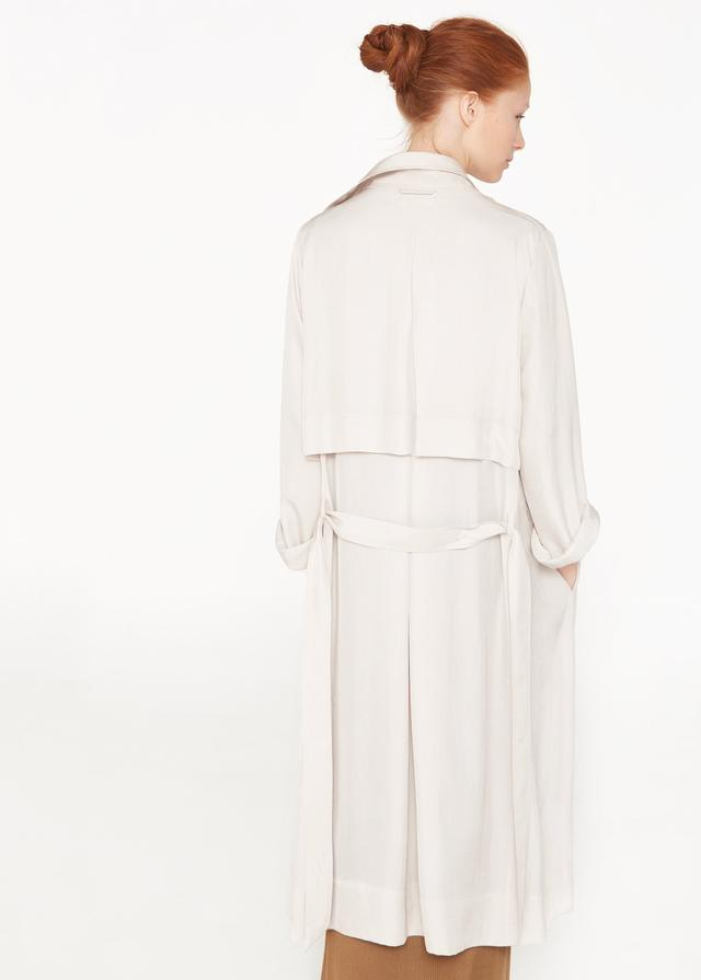 Flowy Long Trench Coat Endource