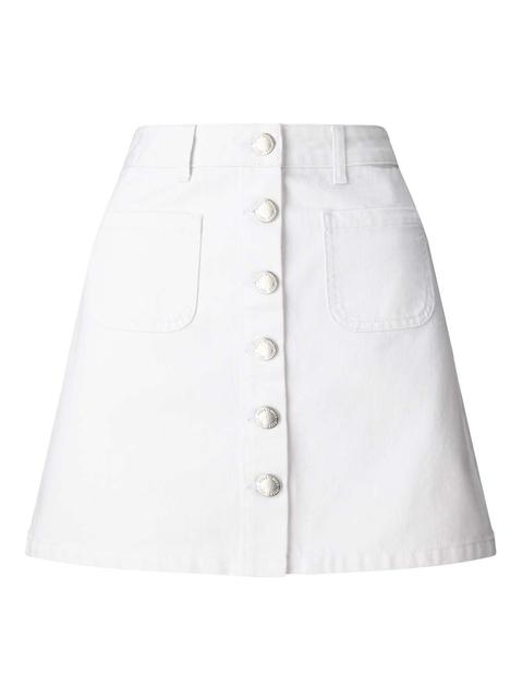 17f788aff8 Patch Pocket Denim Skirt