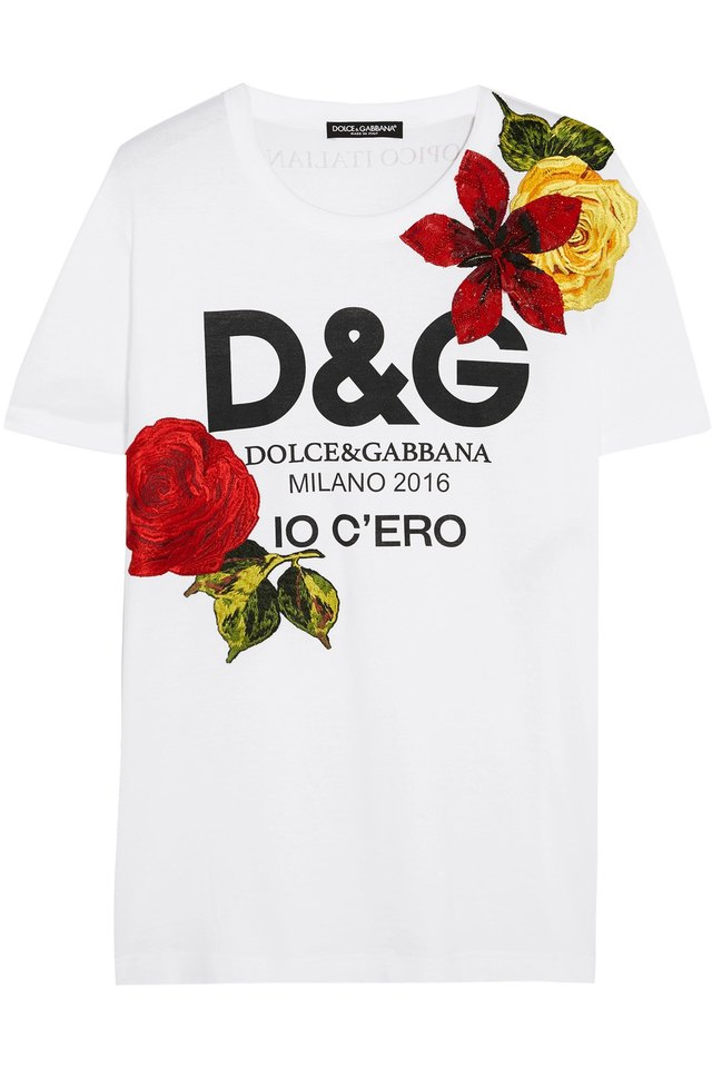 Milano t shirt endource for Dolce and gabbana printed t shirts