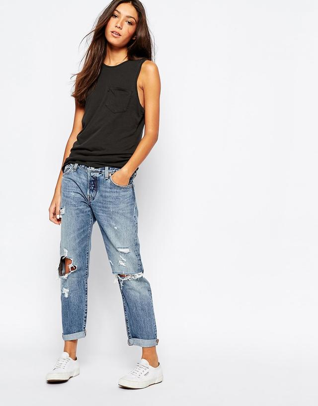 501 CT Destroyed Jeans | Endource