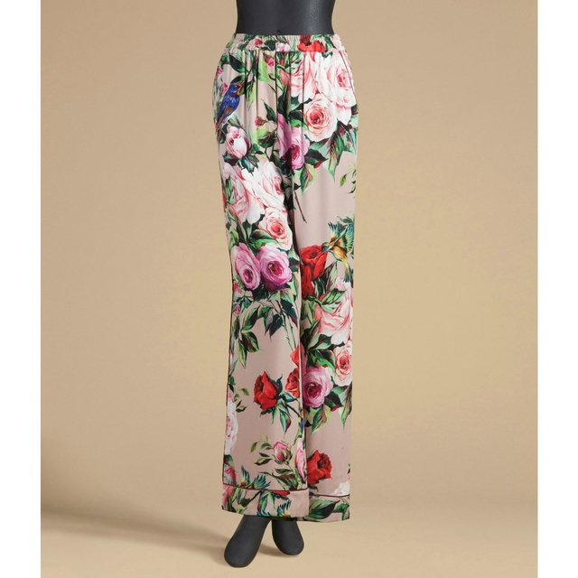 Floral Pyjama Style Trousers Endource