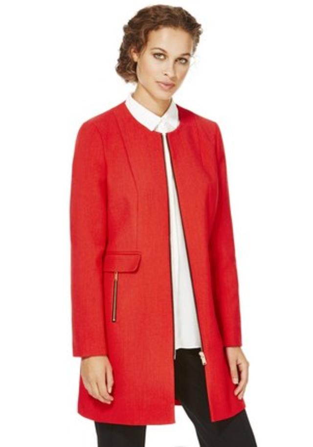 Collarless Coat | Endource