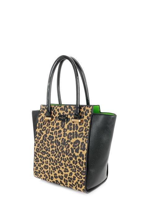 b54b552e964 Mila Leopard Tote Bag   Endource