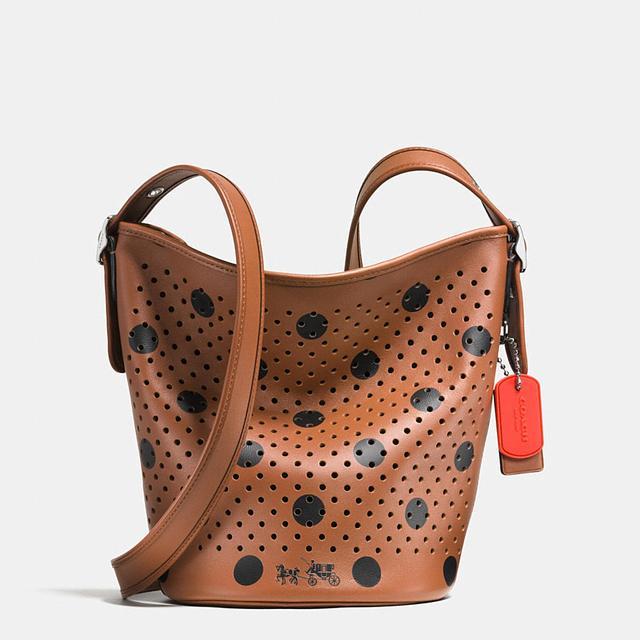 38ef59ac0 Polka-Dot Mini Duffle Bag | Endource