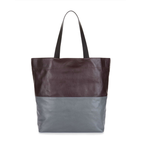 Brooklyn Leather Tote by Jaeger