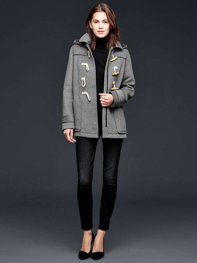 Wool Toggle Coat | Endource