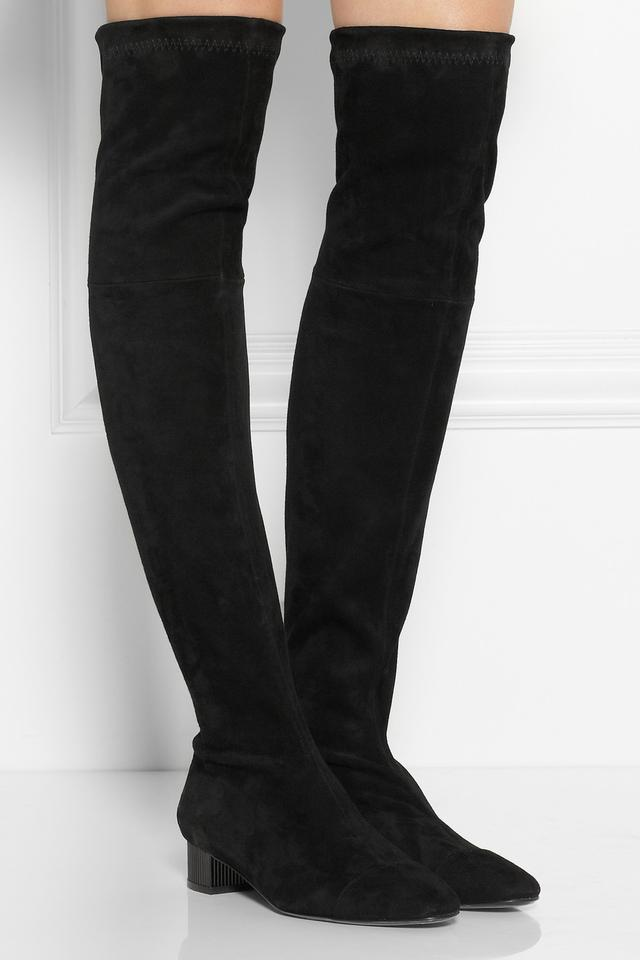 cali stretch suede the knee boots endource