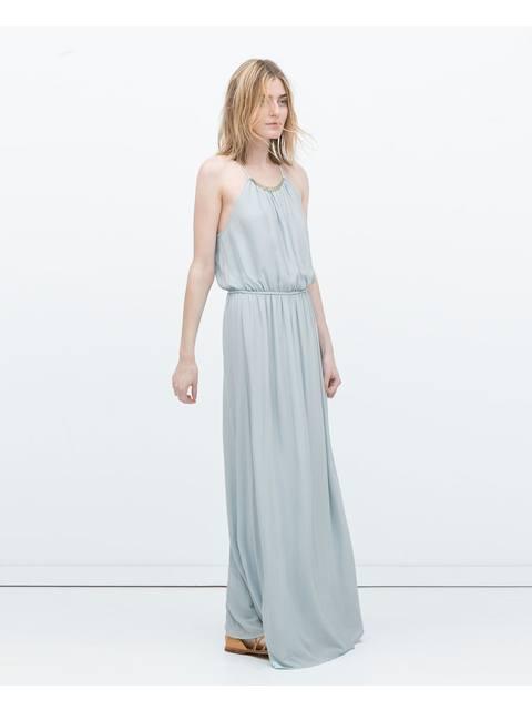 13c5eb3a Appliqué Maxi Dress | Endource