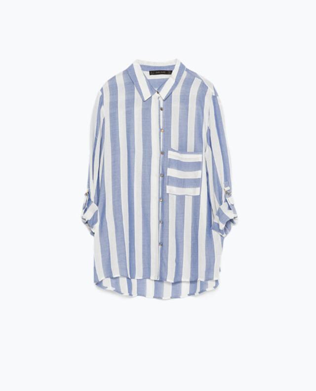 Wide Striped Shirt Endource