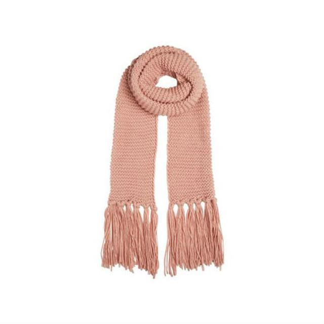 Knitting Patterns For Scarves With Fringe : Knitted Fringe Scarf Endource