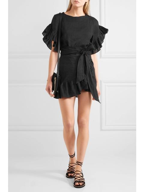 1ef1e8fabb Delicia Ruffled Dress