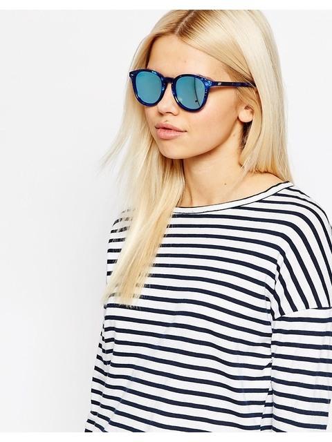 5039f6b847 Bandwagon Round Sunglasses