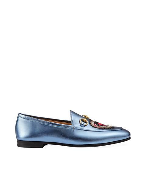 604eaf78e89 Jordaan Horsebit Metallic Loafers