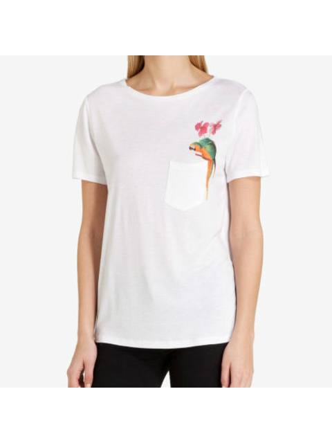 2d672d8862f42a Evllin Parrot Print T-shirt