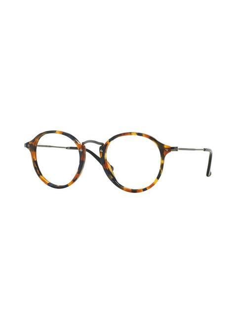 9f099f3e35 Round Frame Fleck Glasses
