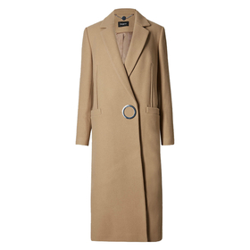 Wool Rich Overcoat by Marks and Spencer