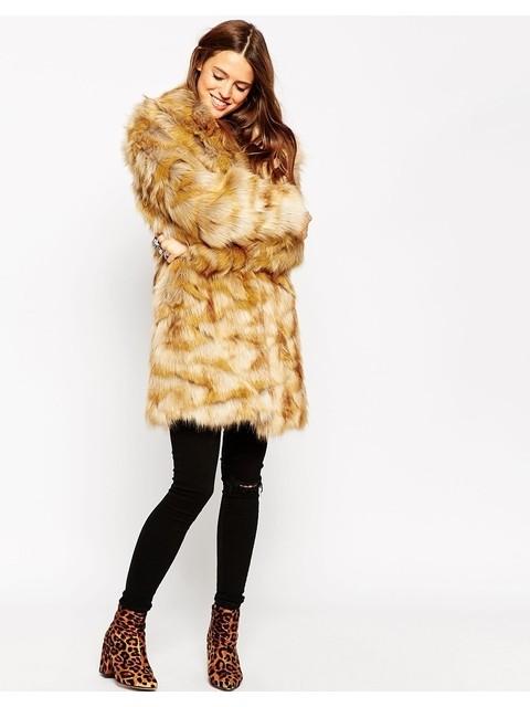 7c975d86719 Vintage Faux Fur Coat