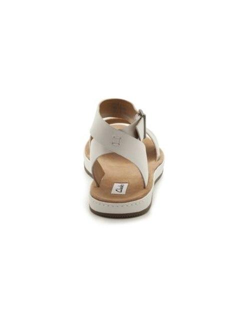 7a1a8c3f87f44 Romantic Moon White Silver Womens Casual Sandals