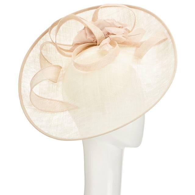 Riya side up silk flower occasion hat endource mightylinksfo