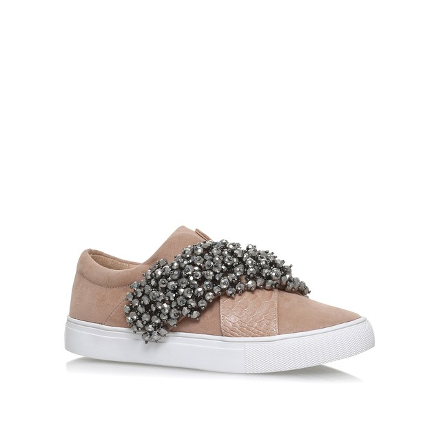 Ocean Nude Flat Slip On Trainers By KG Kurt Geiger axYvYFEb