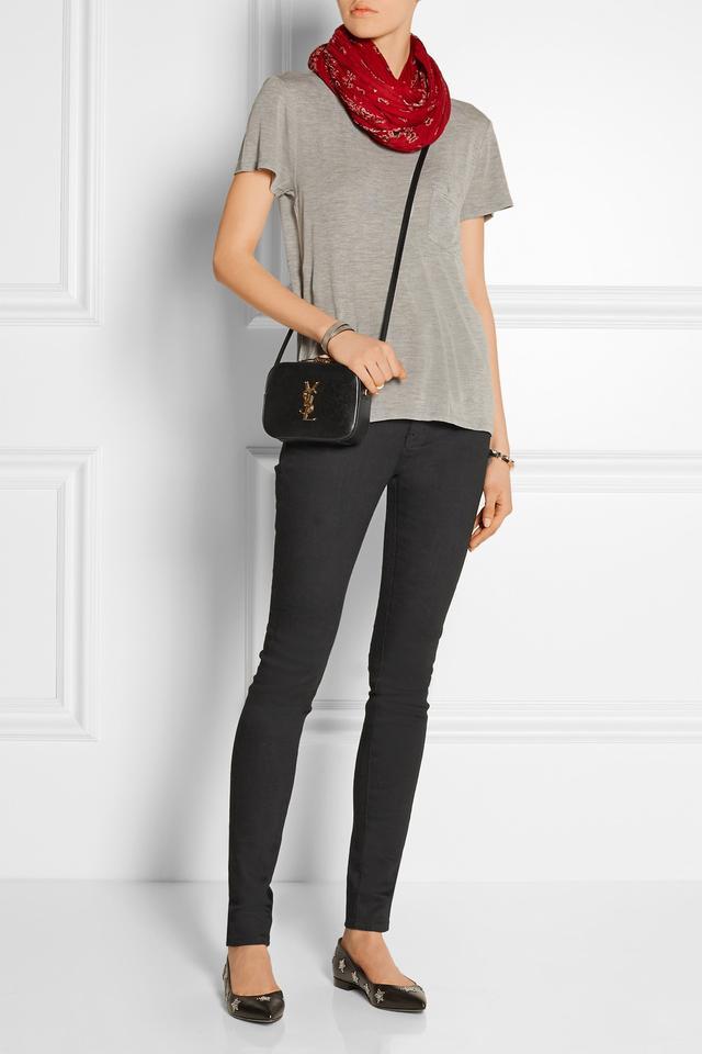 yves saint laurent clutch sale - saint laurent monogram saint laurent blogger bag in black leather